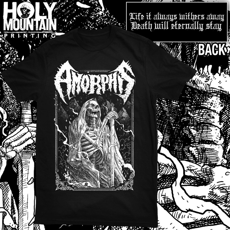 "AMORPHIS ""WARRIORS TRIAL"" SHIRT"