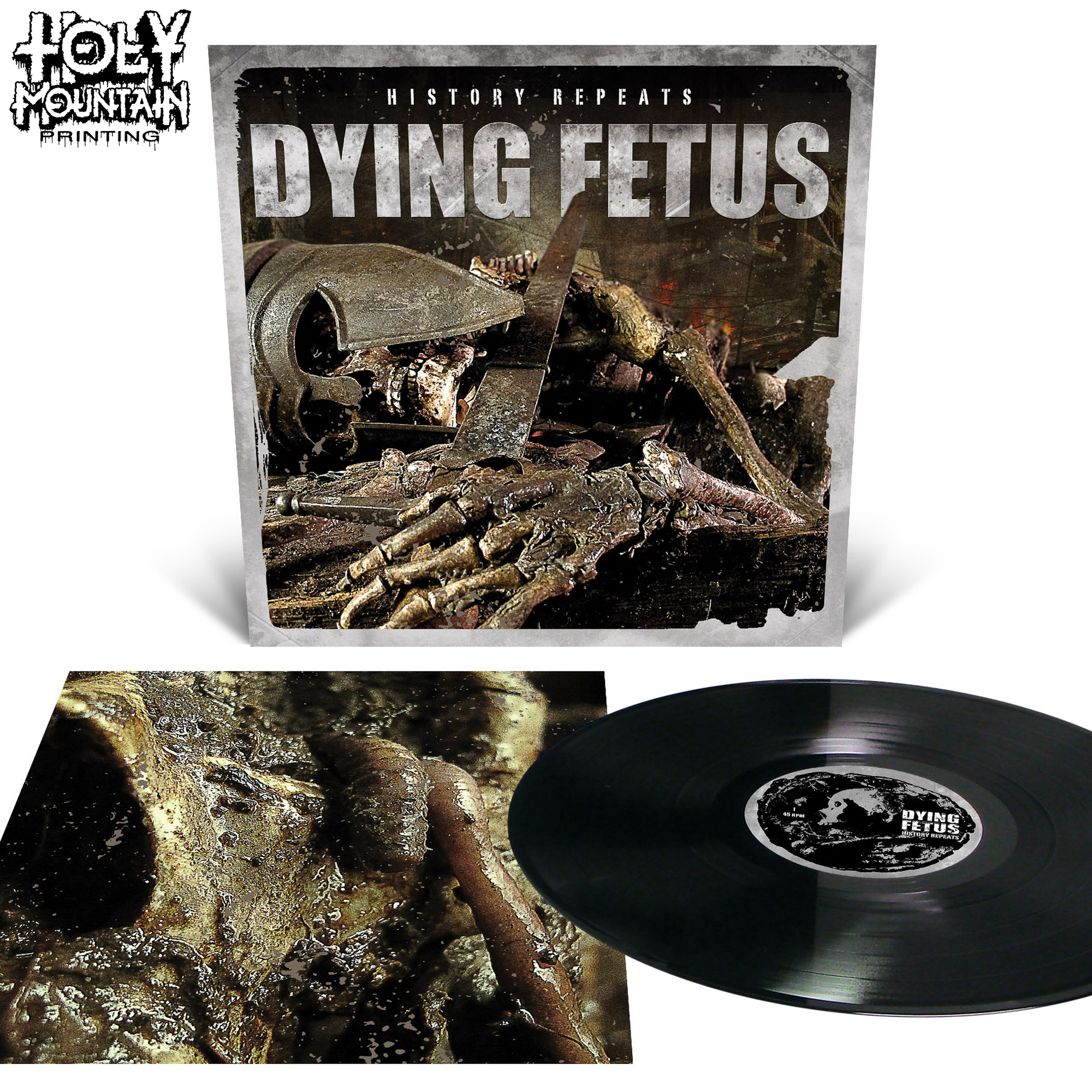 "Dying Fetus ""History Repeats..."" Vinyl Record"