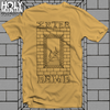 "INTER ARMA ""STAIRS"" GOLD SHIRT"