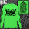 "INOCULATION ""ANATOMIZE"" GREEN LONG SLEEVE SHIRT"