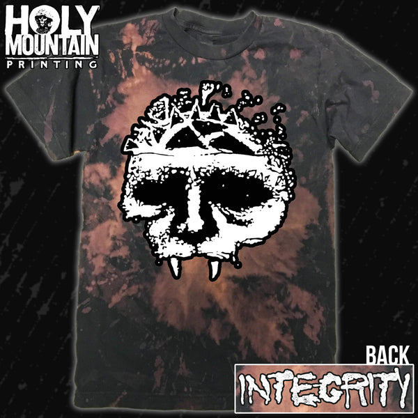 "INTEGRITY ""BLEACH DYE SKULL"" SHIRT"