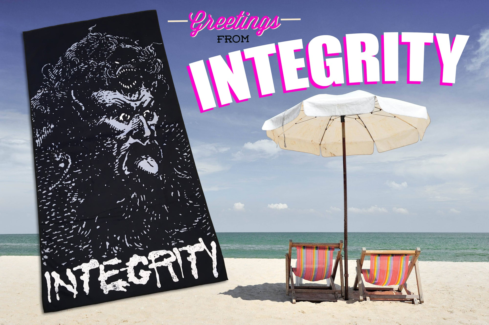 INTEGRITY BEACH TOWEL
