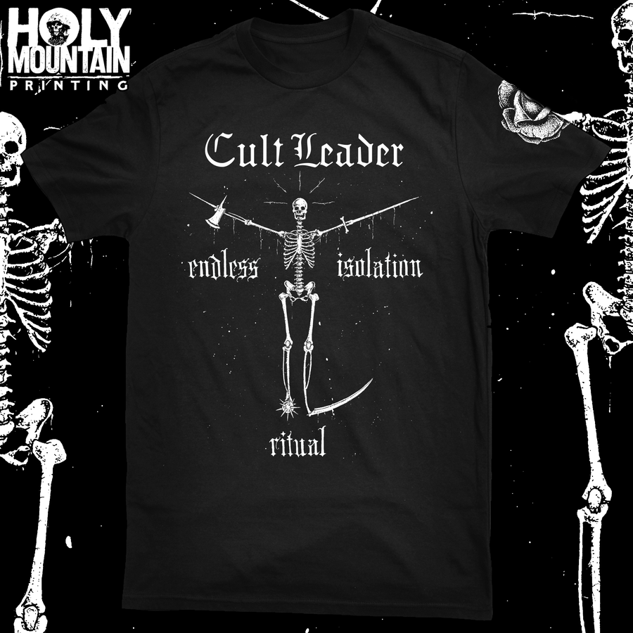 "CULT LEADER ""ENDLESS ISOLATION RITUAL"" SHIRT"