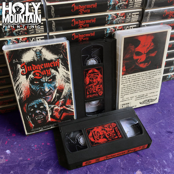 JUDGEMENT DAY VHS TAPE