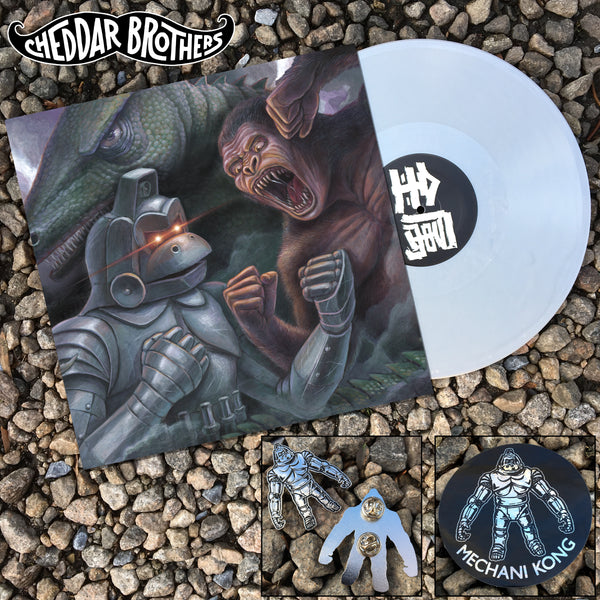 "KING KONG ESCAPES 12"" SILVER VINYL"