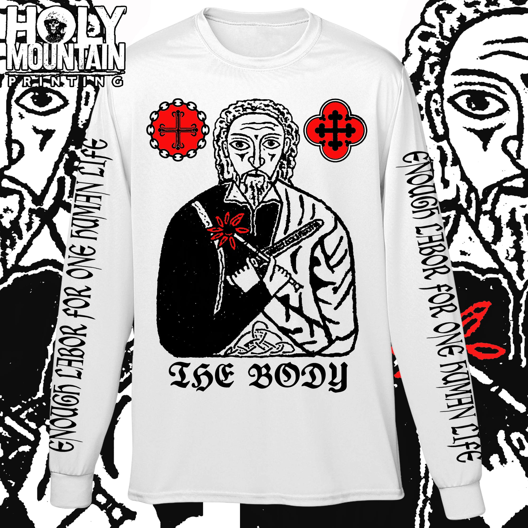 "THE BODY ""LABOR"" LONG SLEEVE"