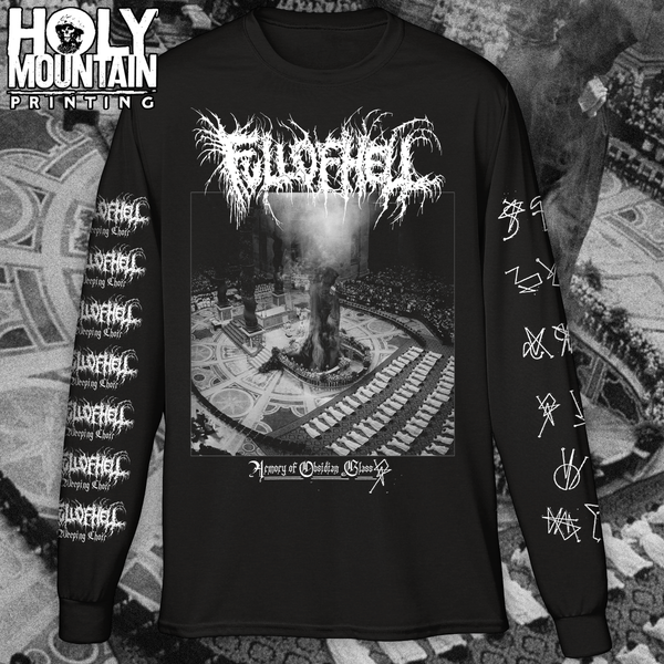 Full Of Hell Quot Obsidian Quot Long Sleeve Holymountainprinting