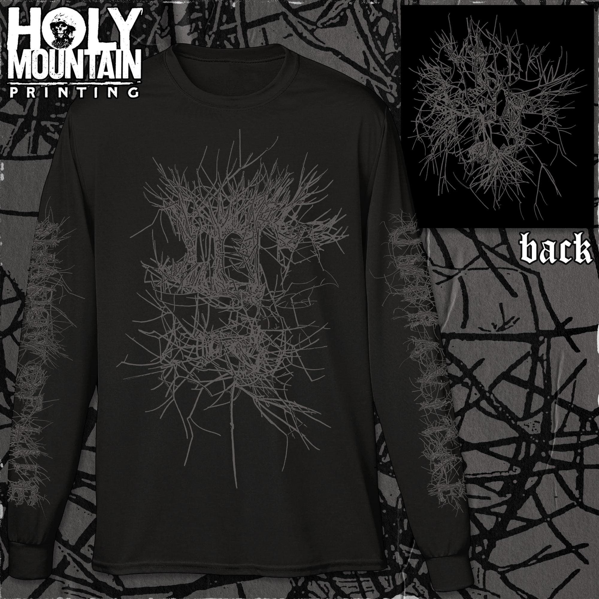 "UMBRA VITAE ""SHADOW OF LIFE"" LONG SLEEVE"
