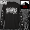 "BLOOD INCANTATION ""INTERDIMENSIONAL EXTINCTION"" LONG SLEEVE SHIRT"