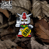 "T&T TOGETHER ""LUCKY GUNDAM"" ENAMEL PIN"