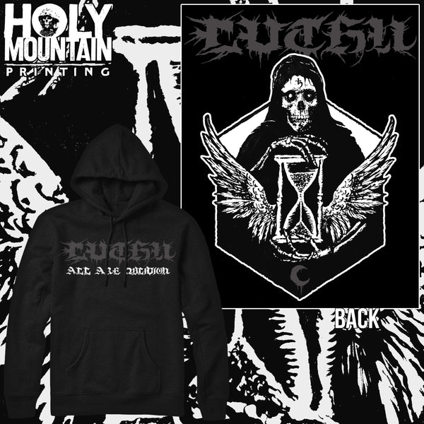 "LEVIATHAN ""DEATH CREST"" HOODED SWEATSHIRT"
