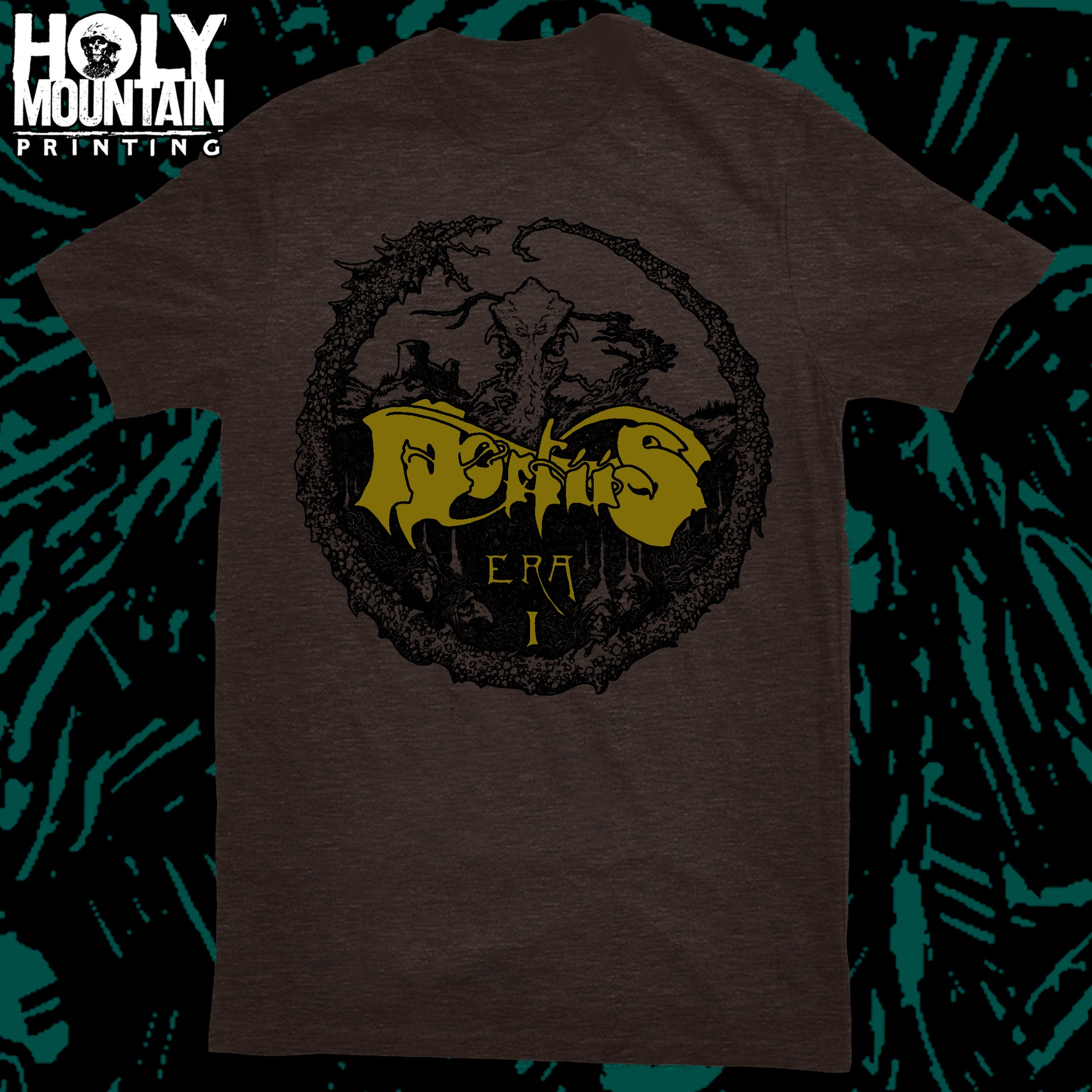 "MORTIIS ""VINTAGE BROWN"" SHIRT"