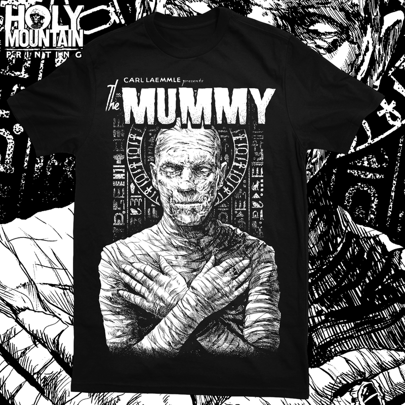 "ABACROMBIE INK ""THE MUMMY"" SHIRT"