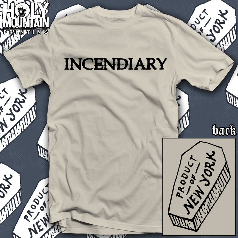 "INCENDIARY ""COFFIN"" SHIRT"