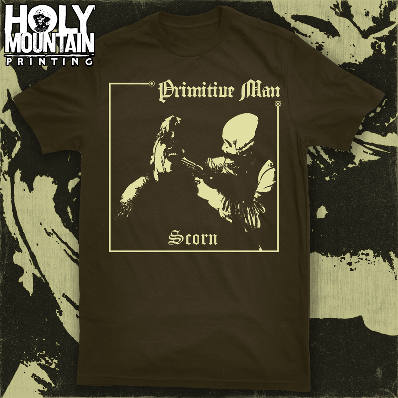 "PRIMITIVE MAN ""SCORN"" SHIRT"