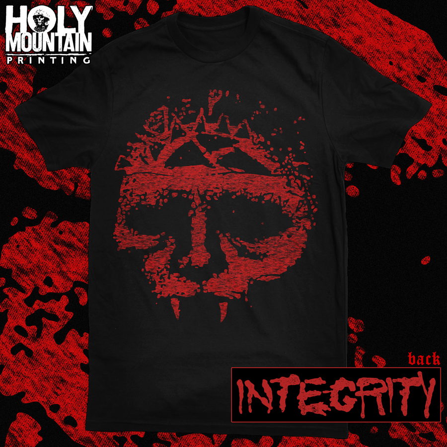 "INTEGRITY ""ERODED SKULL"" SHIRT"
