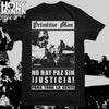 "PRIMITIVE MAN ""JUSTICIA"" SHIRT"
