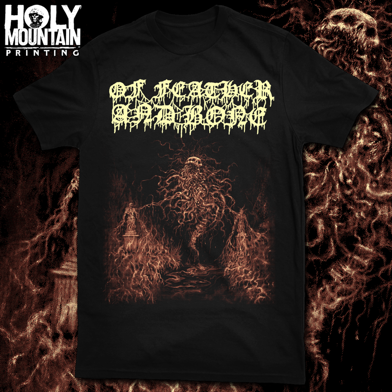 "OF FEATHER AND BONE ""ROTTING CHAOS"" SHIRT"