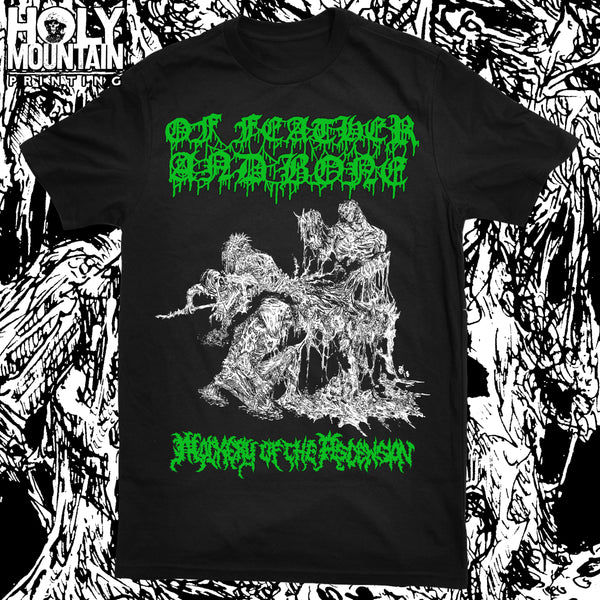 "OF FEATHER AND BONE ""MOCKERY OF THE ASCENSION"" SHIRT"