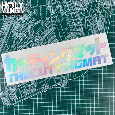 THECUTTINGMAT VINYL CUT STICKER