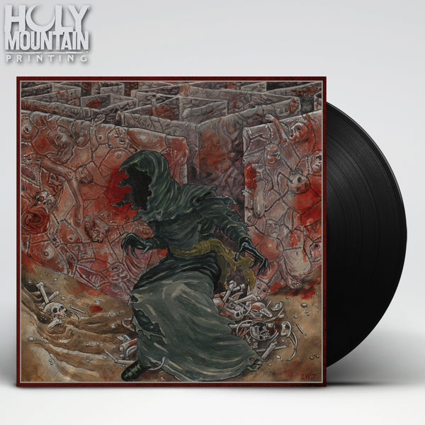 "OUR PLACE OF WORSHIP IS SILENCE ""WITH INEXORABLE SUFFERING"" VINYL RECORD"