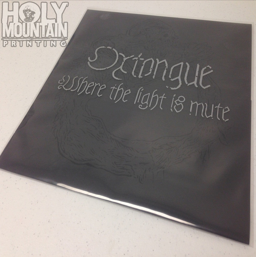 "OXTONGUE ""WHERE THE LIGHT IS MUTE"" 12"" VINYL"