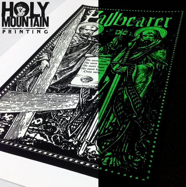 "PALLBEARER ""SAINTS"" GLOW IN THE DARK POSTER"