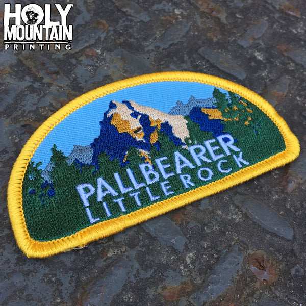 PALLBEARER HEARTLESS WOVEN PATCH