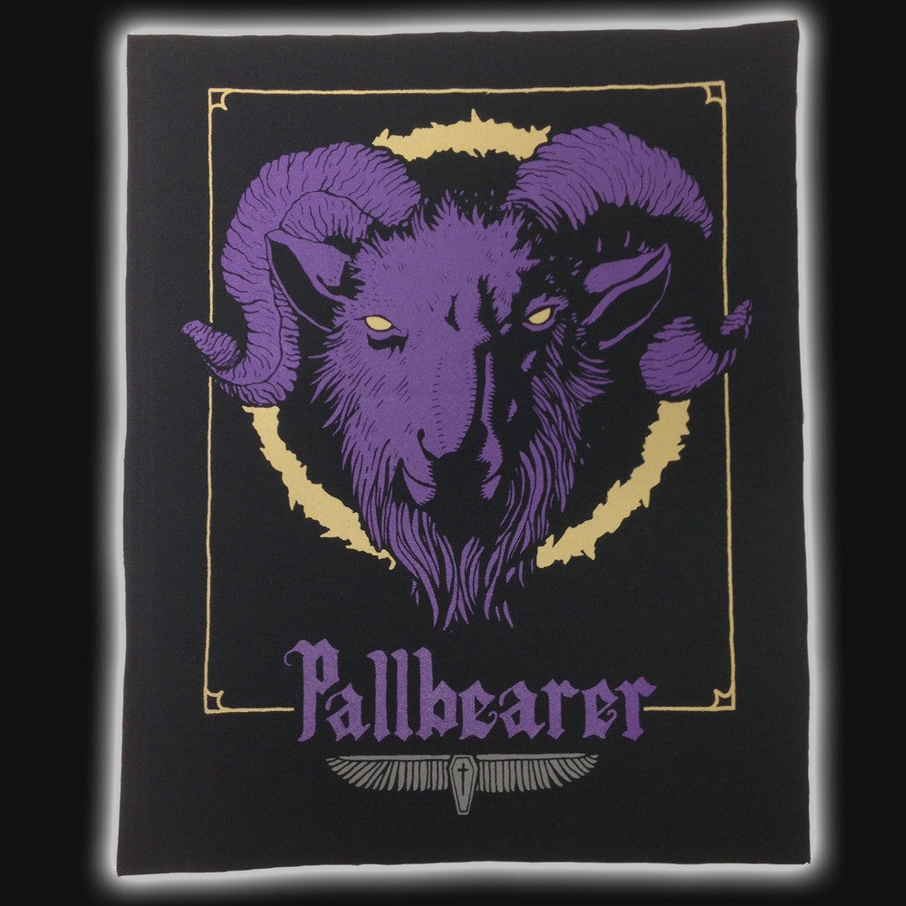 "PALLBEARER ""GOAT HEAD"" BACK PATCH"