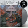 "GODZILLA VS MEGALON 12"" SILVER VINYL / PIN PACKAGE"