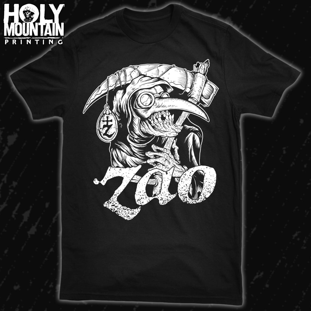 "ZAO ""PLAGUE MASK"" BLACK SHIRT"