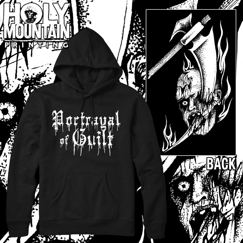 "PORTRAYAL OF GUILT ""RIPPER"" PULLOVER HOOD"