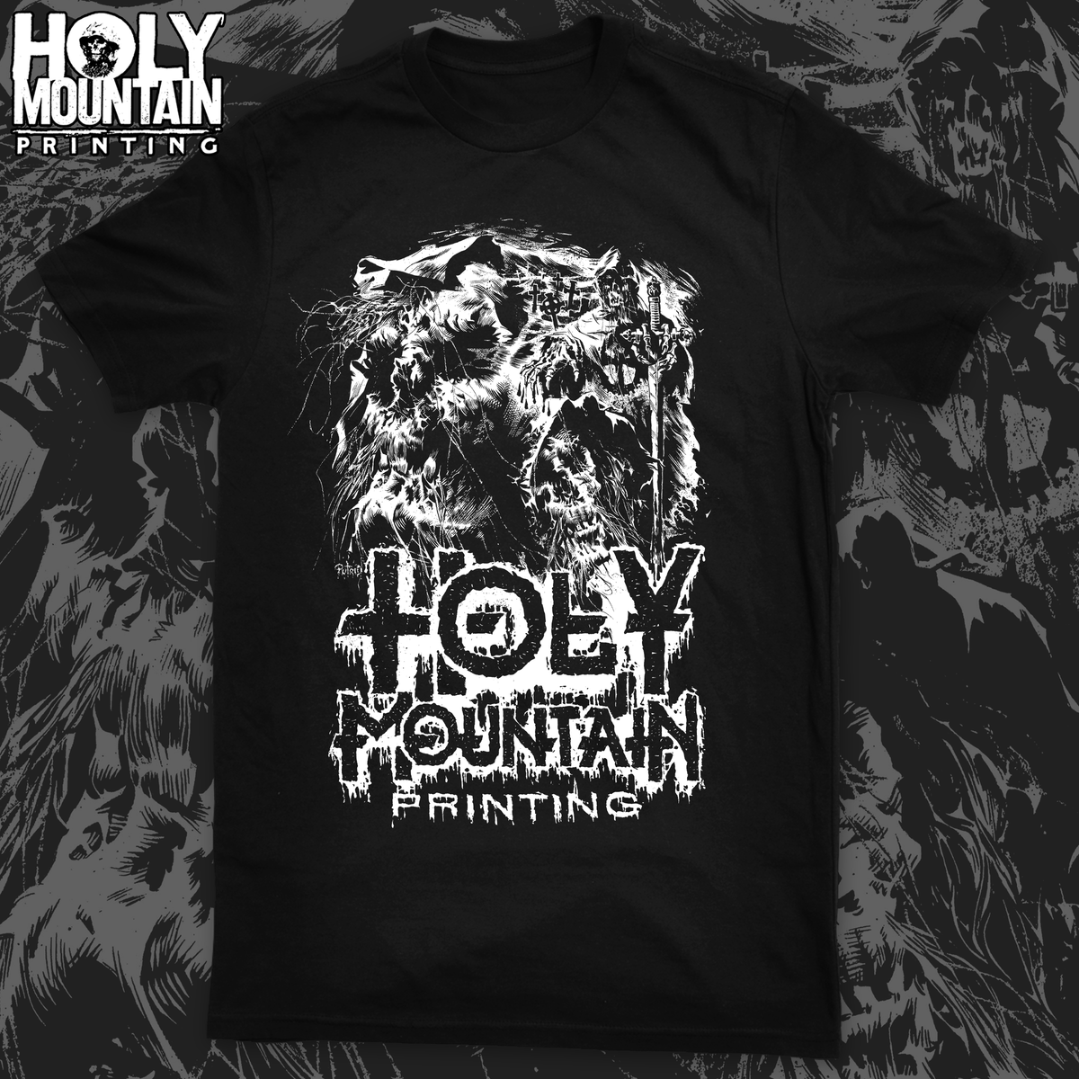 "HOLY MOUNTAIN ""PUTRID TEMPLAR"" SHIRT"