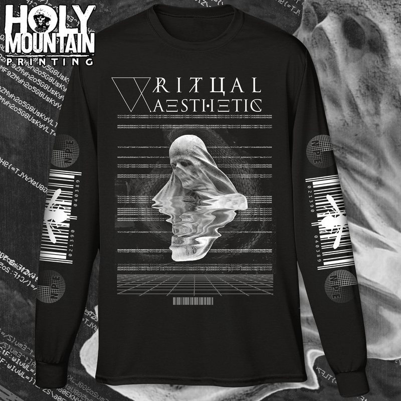 "RITUAL AESTHETIC ""BARCODE"" LONG SLEEVE SHIRT"