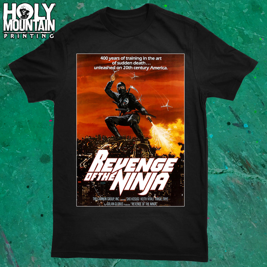 REVENGE OF THE NINJA SHIRT