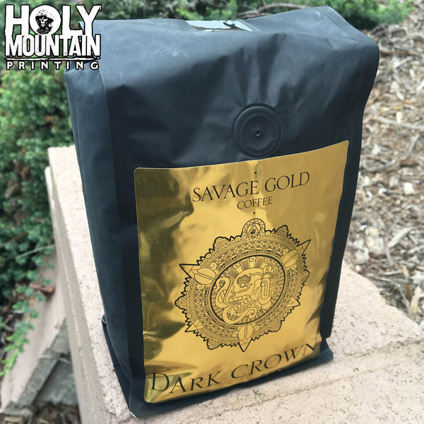 "SAVAGE GOLD ""DARK CROWN"" COFFEE"