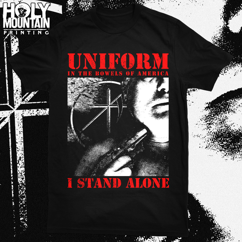 "UNIFORM ""ALONE"" SHIRT"