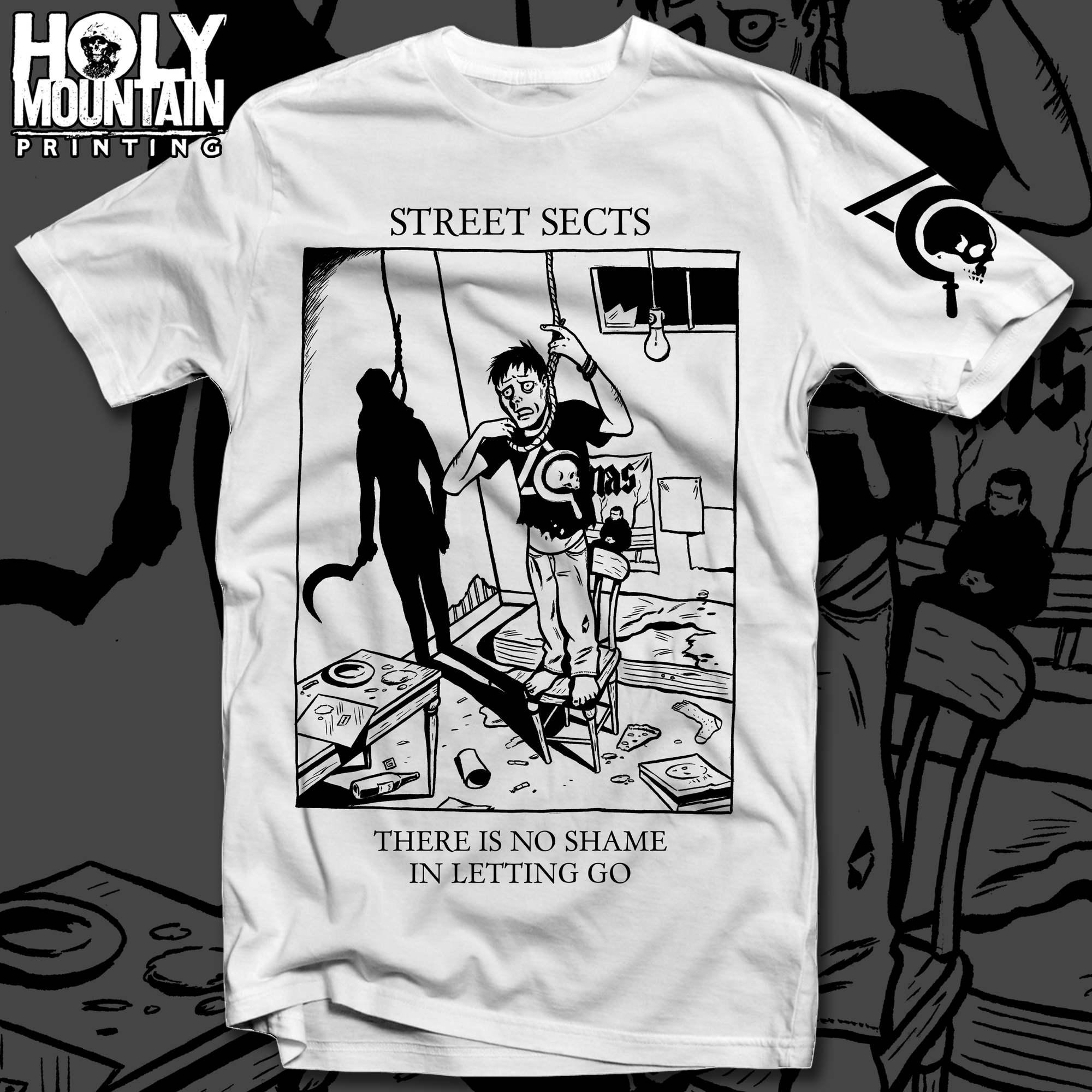 "STREET SECTS ""NO SHAME"" SHIRT"