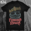 "FUMING MOUTH ""CROWN"" BLACK SHIRT"