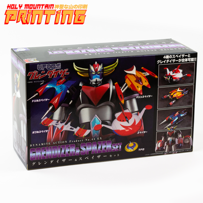 EVOLUTION TOY - DYNAMITE ACTION! GRENDIZER & SPAZERS SET - FIGURE