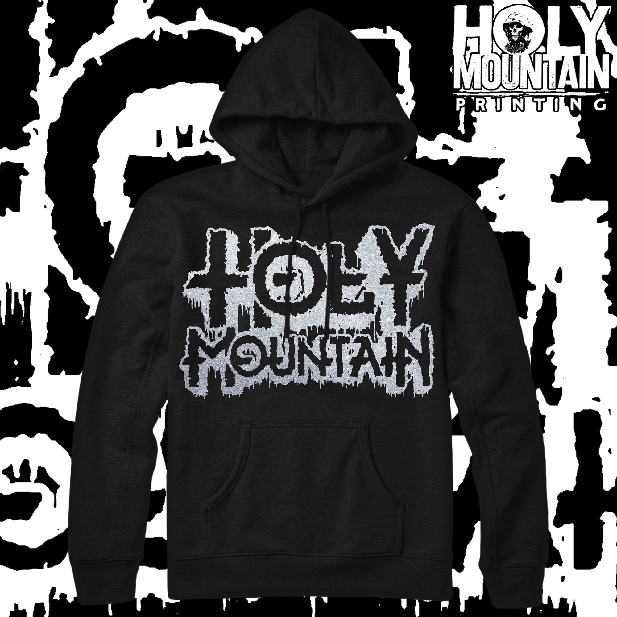 "HOLY MOUNTAIN ""SPEAK OF THE DEVIL"" HOODED SWEATSHIRT"