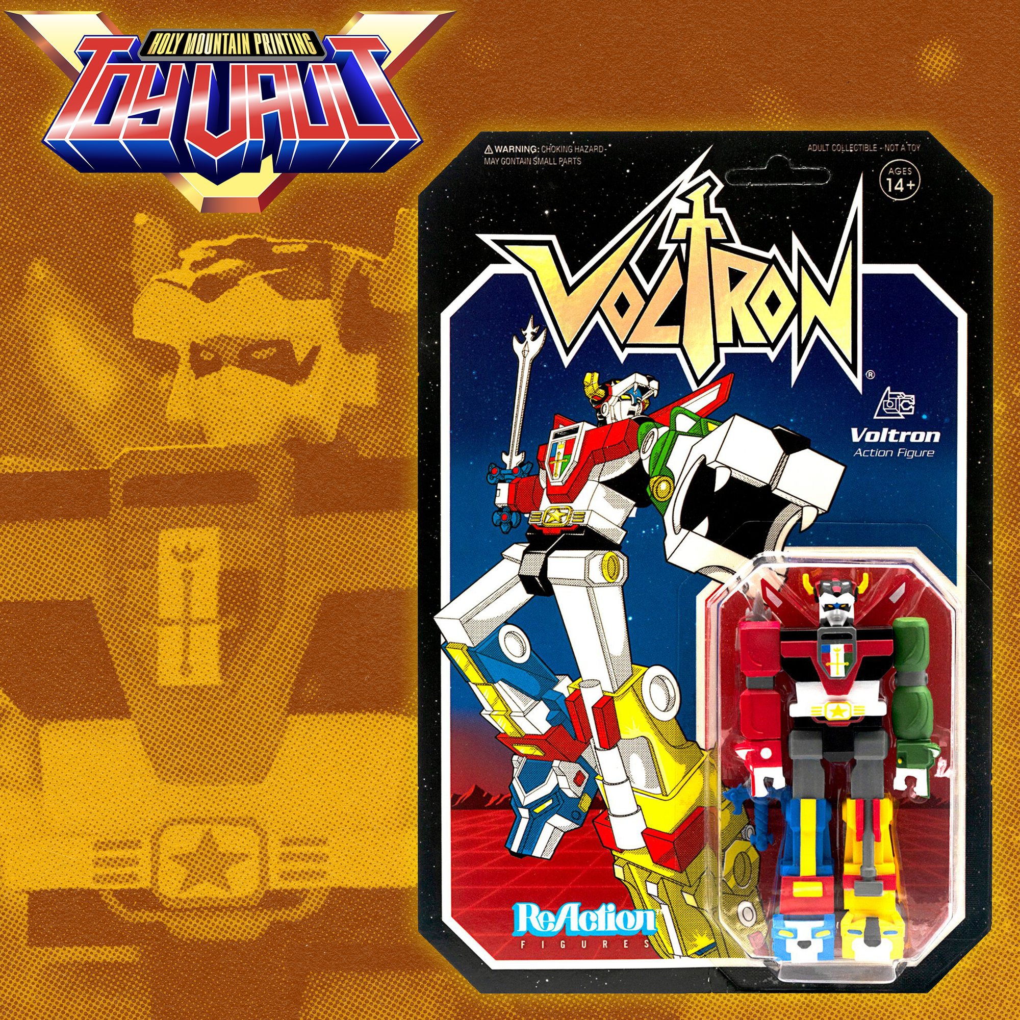 SUPER7 - Voltron ReAction Figure