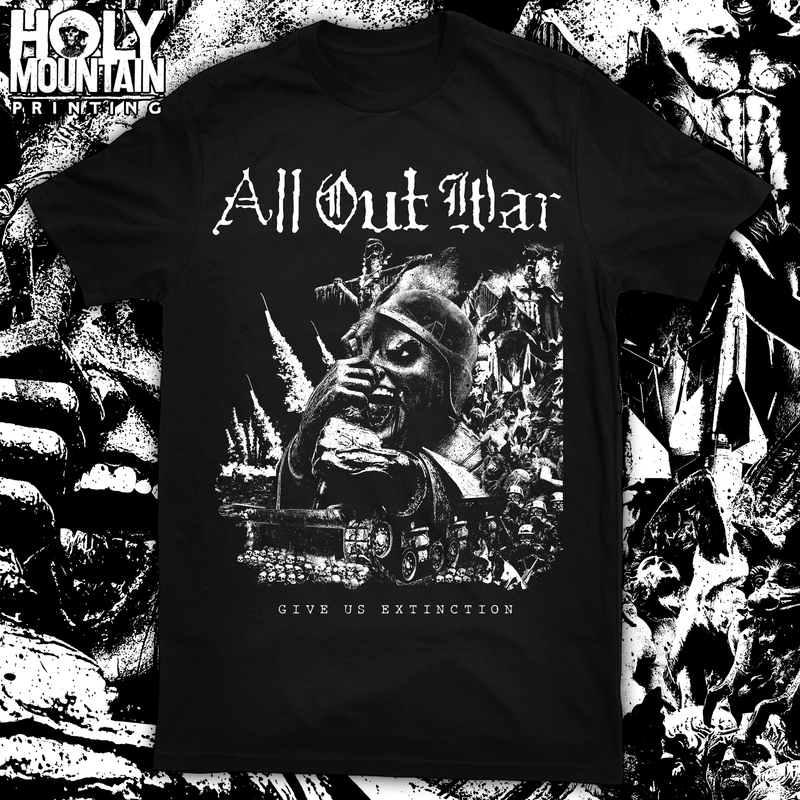 "ALL OUT WAR ""SKULLTANK"" SHIRT"