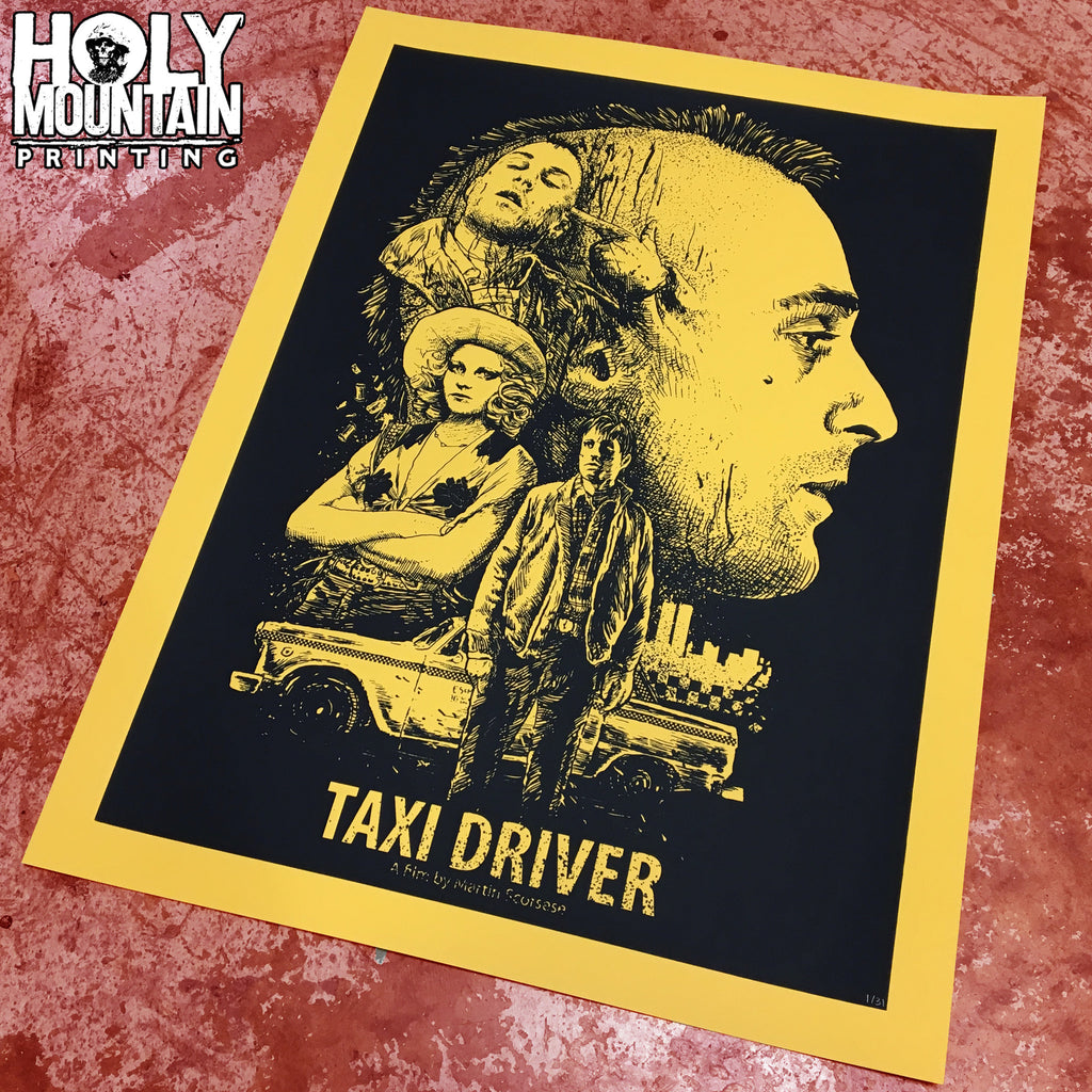 "ABACROMBIE INK ""TAXI DRIVER"" POSTER"