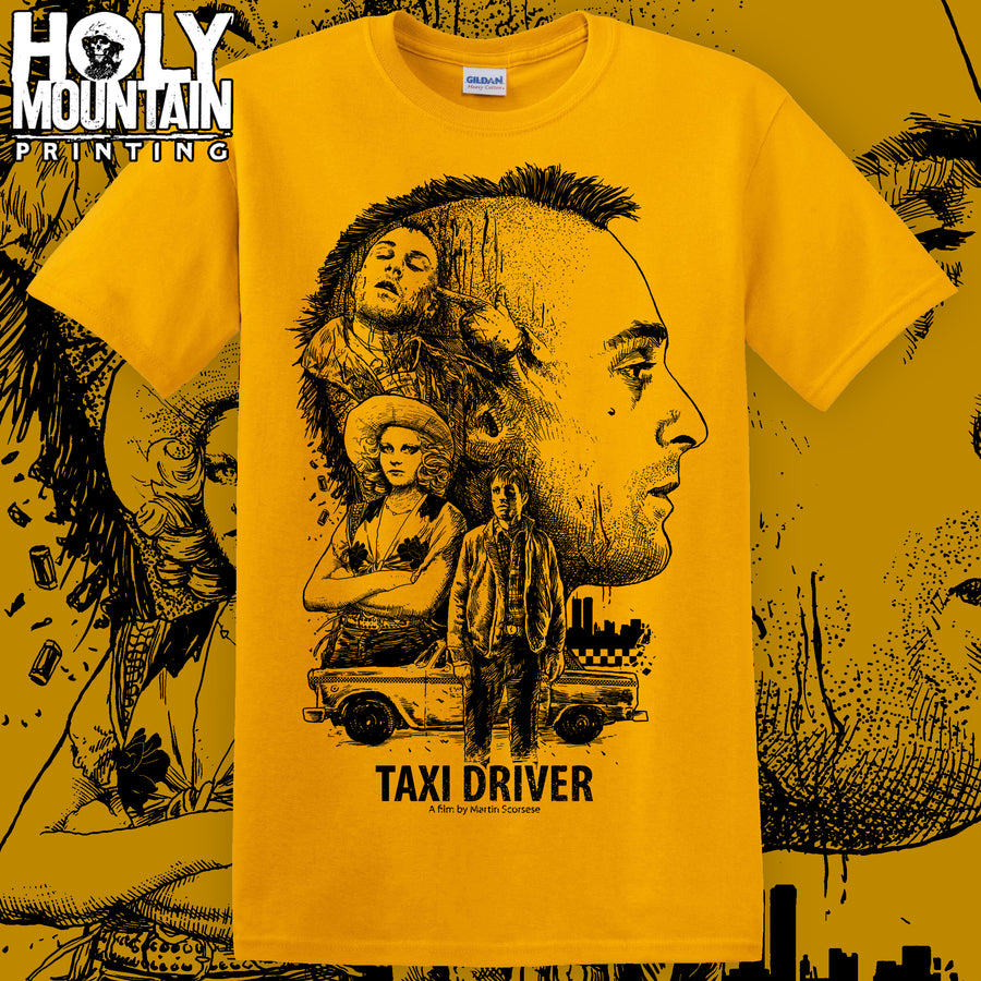 "ABACROMBIE INK ""TAXI DRIVER"" SHIRT"