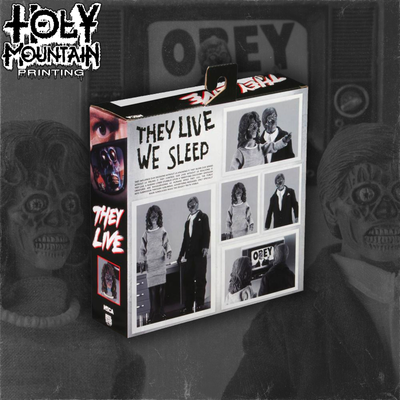 "They Live Bundle - NECA 8"" Inch Figure and Original Soundtrack Vinyl Record"