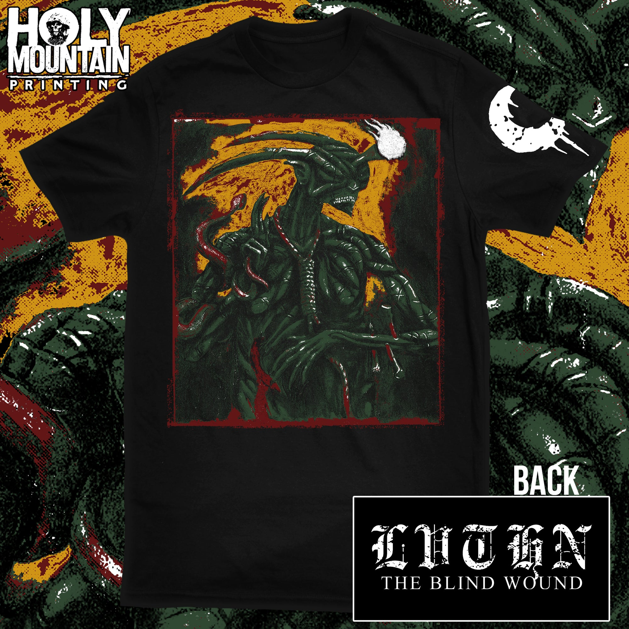 "LEVIATHAN ""THE BLIND WOUND"" SHIRT"