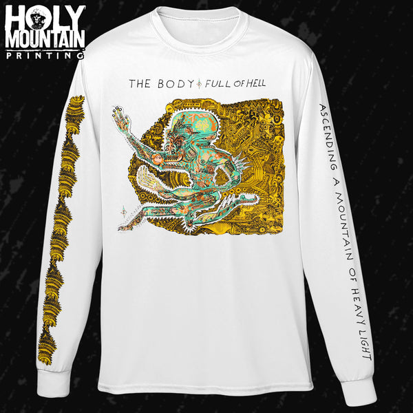 "THE BODY / FULL OF HELL ""ASCENDING A MOUNTAIN OF HEAVY LIGHT"" LONG SLEEVE SHIRT"