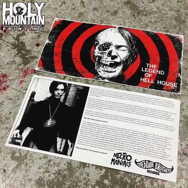 THE LEGEND OF HELL HOUSE LATHE CUT 7 INCH