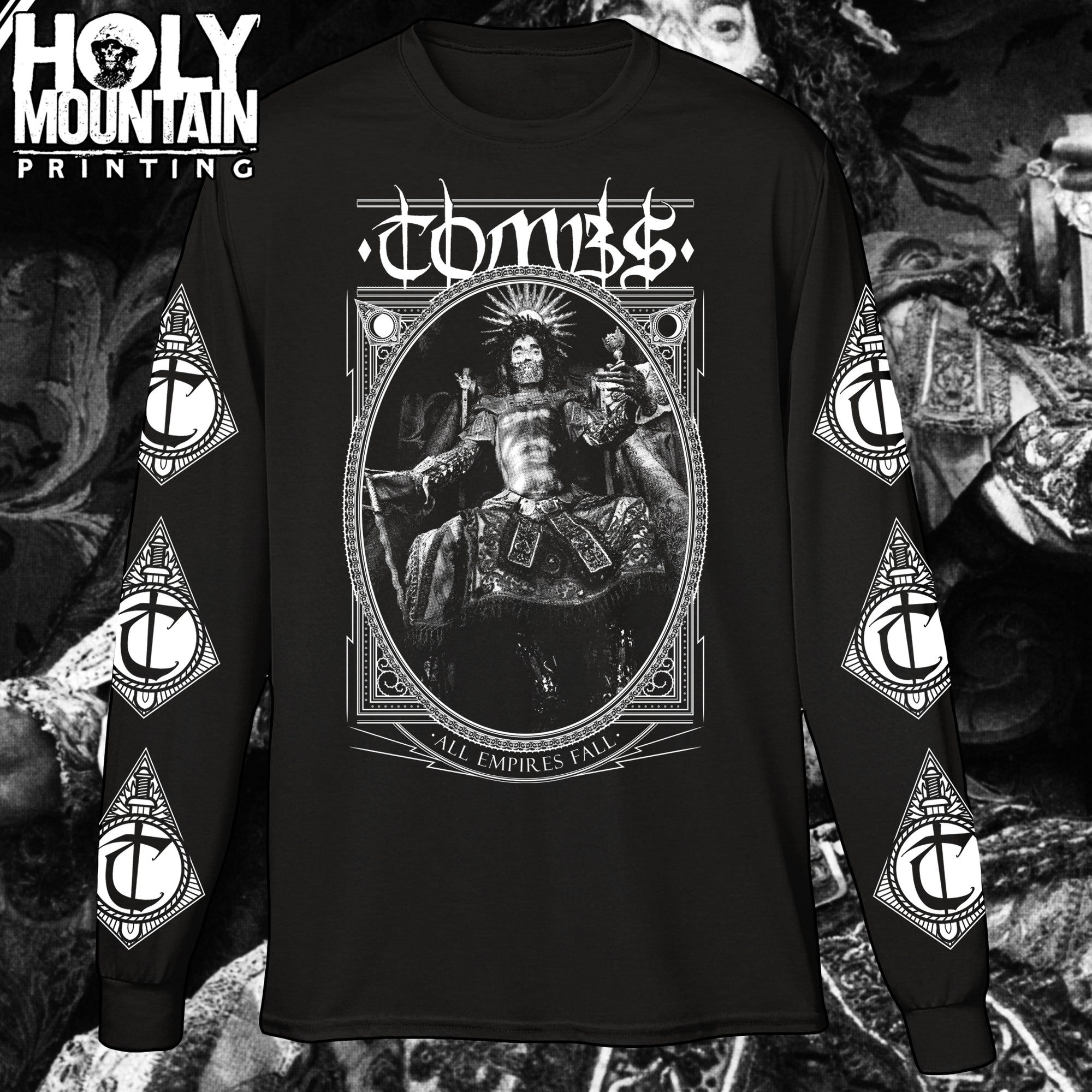 "TOMBS ""ALL EMPIRES FALL"" LONG SLEEVE SHIRT"